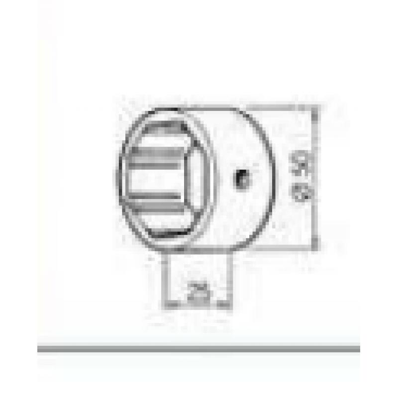 Adapter za garazna vrata 70mm na 101 mm