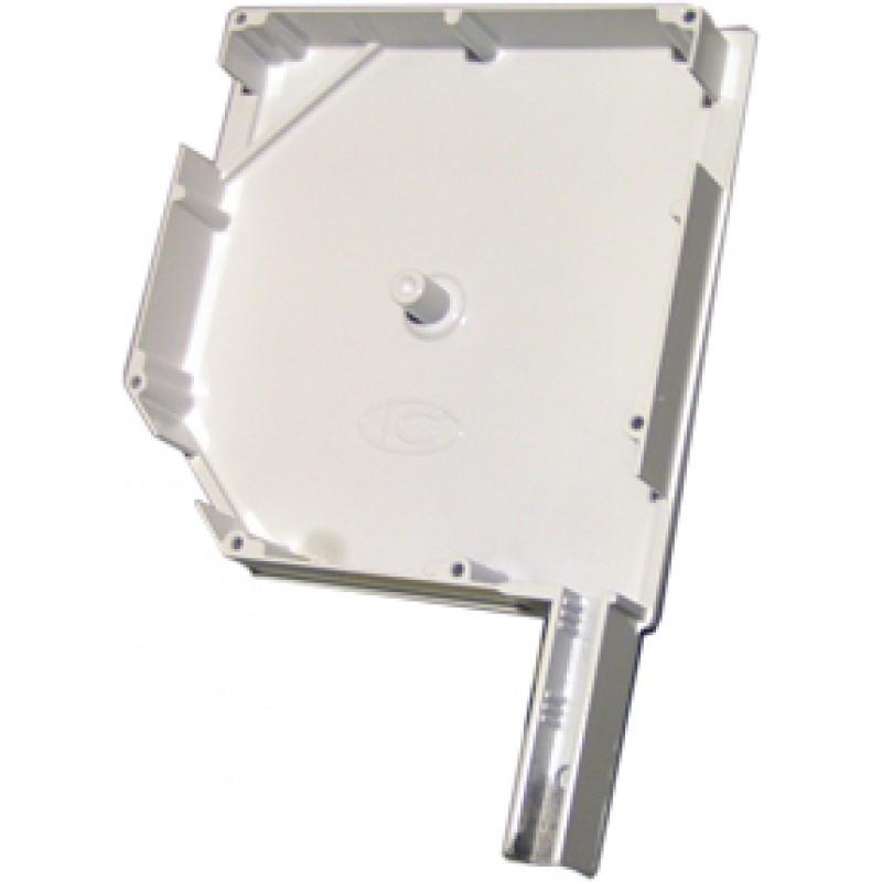 Aluminijska bočna stranica 165mm bijela za roletu