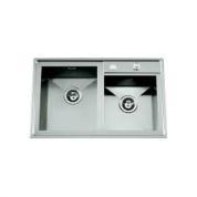Sudoper RODI Box line 80 duo 800x500mm sa sifonom