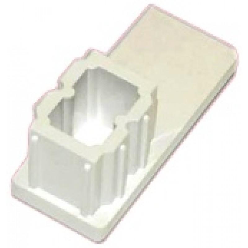 Čep vodilice 53 X 22 mm bijeli za rolete